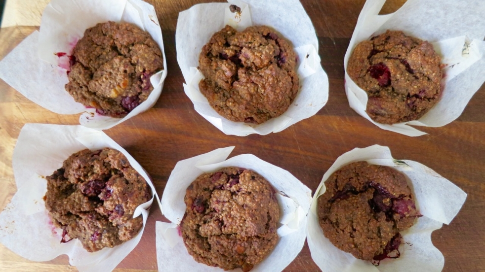 Berry Nut Muffin